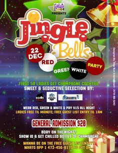 Fantazia 2001 JINGLE BELLS Red, Green & White Party Dec 23rd, 2017