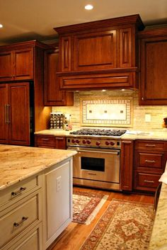 diamond cabinet range hoods | The panels in the hood aren't just a decorative detail; we used push ...
