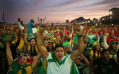 Brazilians Turn Out As National Team Faces Cameroon