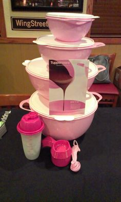 Tupperware Get YOUR Pink ON for Breast Cancer Awareness   Celebrate Women Month