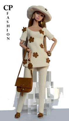 Details zu CP ITALIAN STYLE handmade outfit for FASHION ROYALTY POPPY…