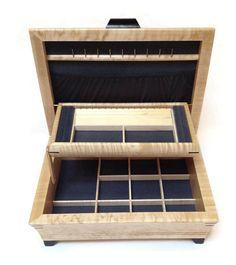Mikutowski Woodworking - Birdseye Maple Jewelry Box