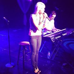 KELSEY!!! Opening up for Anthem. ;)