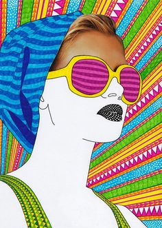 Media Mixed Technique Art Journal   Mixed Media girls6 ART >>> NIKI FARQUHARSON Mixed media girls