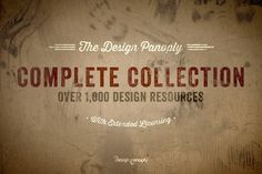 Design Panoply Complete Collection by Design Panoply on @creativework247
