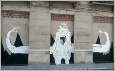 27/10/2013, fiesta de artistas urbanos en Málaga! Soho Málaga
