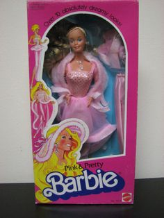 My Grandfather bought me one of these ~ I was wrapped. I still have her plus the outfits ~ Pink and Pretty Barbie!