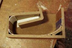 Folded Horn Passive Phone Speaker: 8 Steps (with Pictures) Wooden Speakers, Horn Speakers, Diy Speakers, Wireless Speakers, Woodworking Courses, Woodworking Projects, Woodworking School, Wood Projects, Woodworking Plans