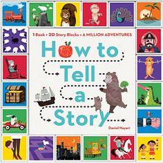 How to Tell a Story: 1 Book + 20 Story Blocks = A Million Adventures by Daniel Nayeri http://www.amazon.com/dp/0761184570/ref=cm_sw_r_pi_dp_b5rxwb1TMSAWN
