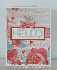 CTMH Heartstrings Card #inspiration #valentines