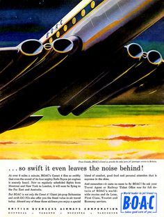 1959 ... Comet 4 by x-ray delta one, via Flickr