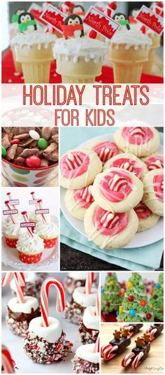 Holiday Treats for Kids! Some of my favorite Christmas Recipes and Special Holiday Recipes!