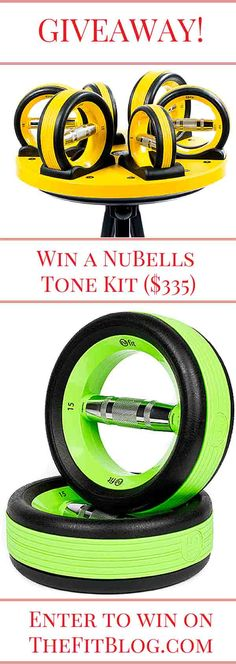 GIVEAWAY! Win a NuBells Tone Kit worth $335 by entering our draw on TheFitBlog.com. The winner will be found on March 31