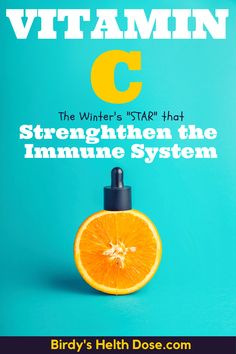 """Today I will start the series of articles on vitamins and minerals with one of the most known and also one of the """"stars"""" of vitamins as I like to call it, Vitamin C, one of its most important roles being that of strengthening the immune system during the winter."""