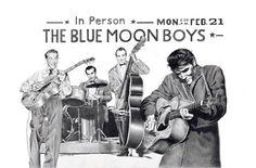 Blue Moon Boys Artwork by Betty Harper..bettyharper.com