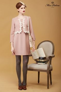 Duchess Dress (Dusty Pink)  (2)
