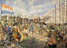 frederik hendrik in front of hertogenbosch 1629