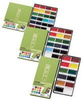 These traditional Japanese solid watercolor sets are great for both professional…