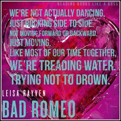 Book Review —Bad Romeo by Leisa Rayven