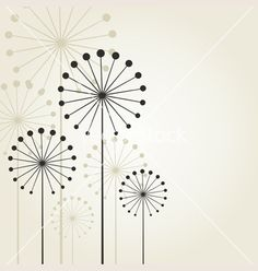 Dandelion vector 819016 - by aleksander1 on VectorStock®  Simple circle design for dandelion