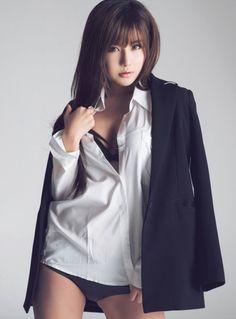 My other interests — itsukadokoka: [Ryu Ji Hye] - Dress. Asian Cute, Beautiful Asian Girls, Korean Girl, Photography Tips, Cute Girls, High Fashion, Shirt Dress, Sexy, Model