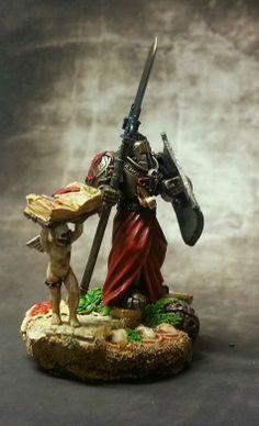 Brother Paride #warhammer #40k #minotaurs