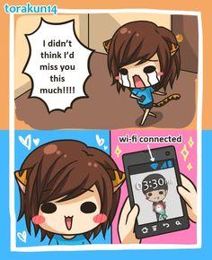 Torakun Comics :: I missed you!   Tapastic - image 1