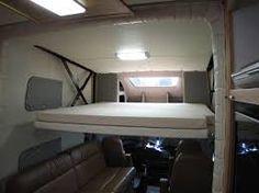 Resultado de imagen para motorhome layout bed over cab