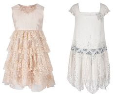 1920s style flowergirl dresses | Flower girl dresses from Monsoon