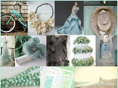 aqua, taupe, tan, mint wedding colors -- love the palette Aqua Wedding, Home Wedding, Wedding Blog, Wedding Colors, Rustic Wedding, Wedding Fun, Wedding Things, Wedding Ideas, Coral Colour Palette