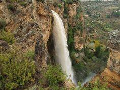 El chorro de El Salt Alicante, Costa, Valencia, Bus Tickets, Beautiful Waterfalls, Incredible India, Most Beautiful, The Incredibles, Earth