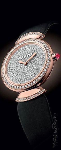 Regilla ⚜ Una Fiorentina in California - womens diamond jewelry, cheap womens fashion jewelry, cheap womens jewelry Bvlgari Watches, Luxury Watches, Amazing Watches, Beautiful Watches, Women Accessories, Fashion Accessories, High Jewelry, Fashion Watches, Women's Fashion