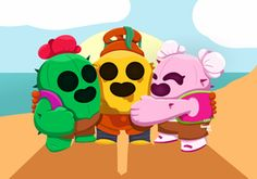 Collaboration with Develop_Art Cactus family (collab) Stars Wallpaper, Cool Wallpaper, Iphone Wallpaper, Star Character, Character Drawing, Image 3d, Star Comics, Fanart, Star Art
