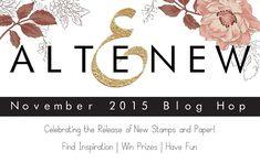 Me and Minime crafting: Altenew November 2015 Blog Hop
