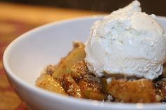 The best apple crisp recipe EVER (uses a yellow cake mix)