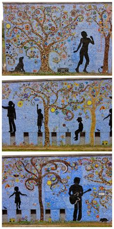 A Day at the Park: Shipe Park, 4400 Avenue G. Exploring Austin's Street Art, Murals & Mosaics | Free Fun in Austin