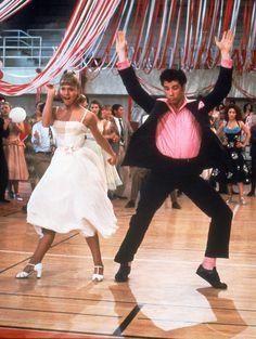 John Joseph Travolta & Olivia Newton-John in Grease