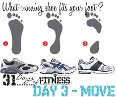 Figure out what running shoe will work best for your foot type