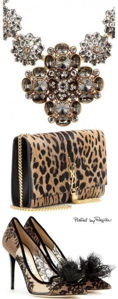 glamour y elegancia -Oscar de la Renta, Saint Laurent, Jimmy Choo | clutch bags