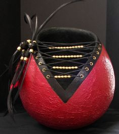 This woman Maria is an amazing artist.  She hand creates these gourds and jewelry.  She also teaches- how cool is that!