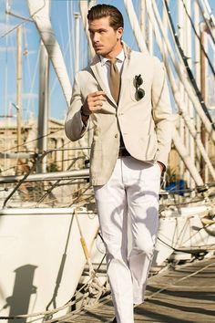 Summer style.  Massimo Dutti 2013 lookbook  #men #fashion