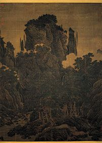Wind in pines Among a Myriad Valleys  Li T'ang (circa 1070-after 1150) Sung Dynasty (960-1279)
