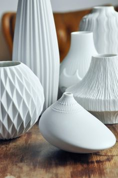 Amazing OP ART Vase 'Pollo' by Rosenthal Studio by TheModernista