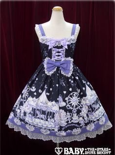 BtSSB Milk Chan's Fantasy Wonderland JSK II « Lace Market: Lolita Fashion Sales and Auctions