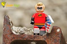 """Incredible: """"Of course I have a secret identity. I don't know a single superhero who doesn't. Who wants the pressure of being super all the time? I Have A Secret, Lego Disney, Usb Flash Drive, Identity, The Incredibles, Superhero, Personal Identity, Usb Drive"""