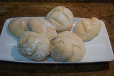 Bollitos de pan milagro porque son tan fáciles de hacer, que es increíble