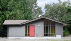 A Horse Stable in Washington Is Reborn As An Airy Studio | Azure -- An image of the refreshed exterior of the old stable
