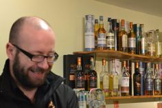 Stewart Dunsmuir, Tour Guide. - Arran distillery