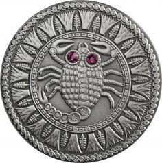 Srebrna Moneta - Skorpion, 20 rubli, Seria: Znaki zodiaku