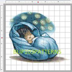 Baby Harry Potter Cross Stitch Pattern by Blip103patterns on Etsy, $2.00
